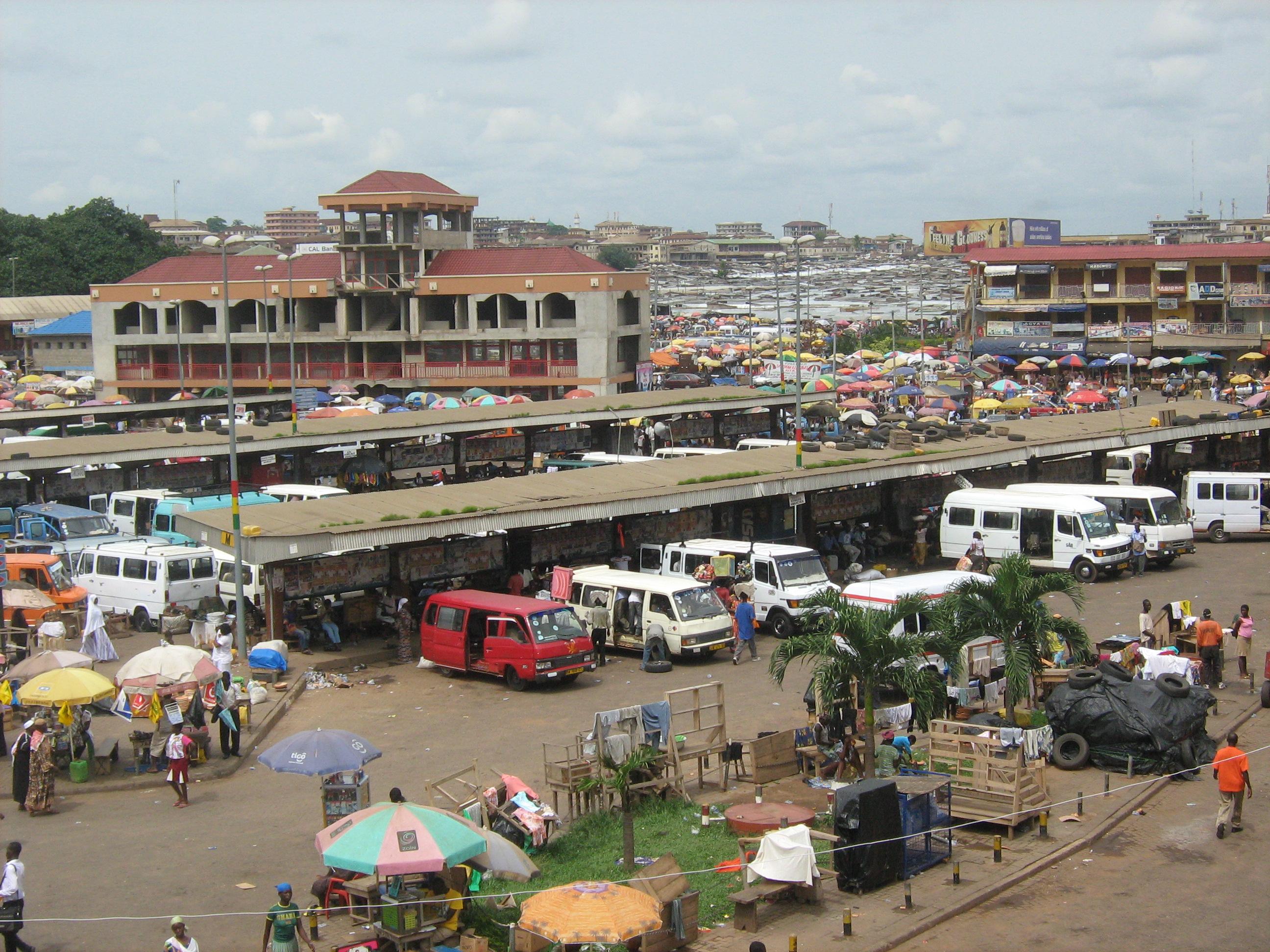 Kumasi Central Station (Ghana)
