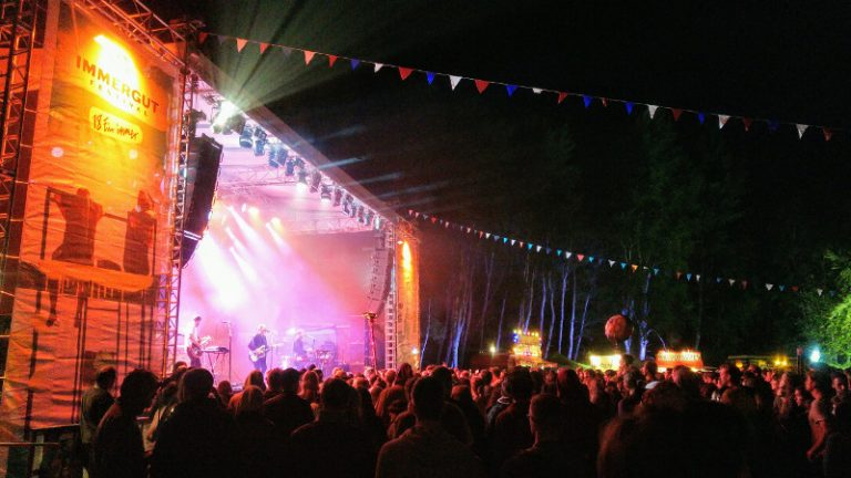 Immergut Festival 2018 Waldbühne