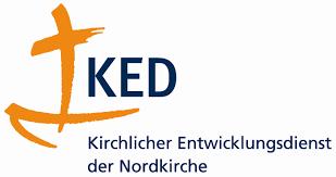 Kirchlicher Entwicklungsdienst der Nordkirche (KED) Logo