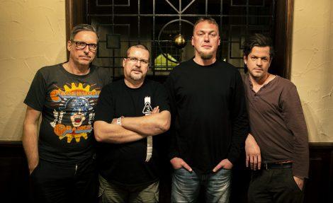 Vier Mitglieder der Band Dritte Wahl