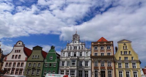 Gebäudefassade vom Rostocker Neuen Markt